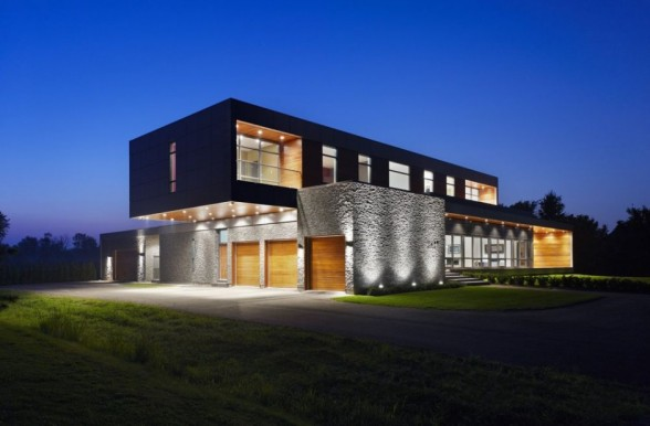 New single family homes design river house niagara in for Dream homes canada