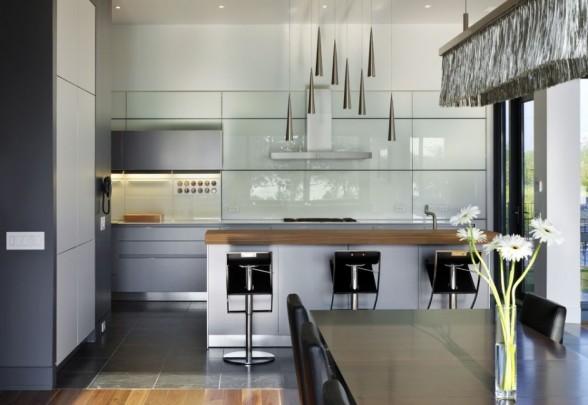 single family kitchen home design