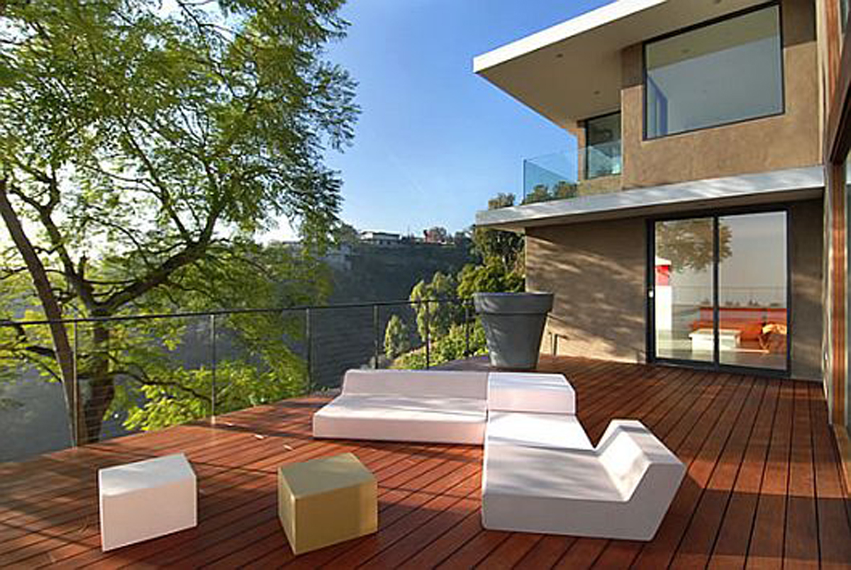 Modernity and Luxurious House Design in Exquisite Residence the Evans House Amazing View