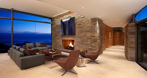 Luxurious Mountain House Design Otter Cove Residence by Sagan