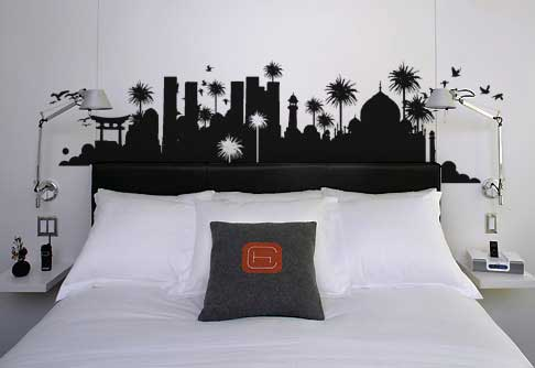 islamic bedroom walls ideas - Bedrooms Walls Designs