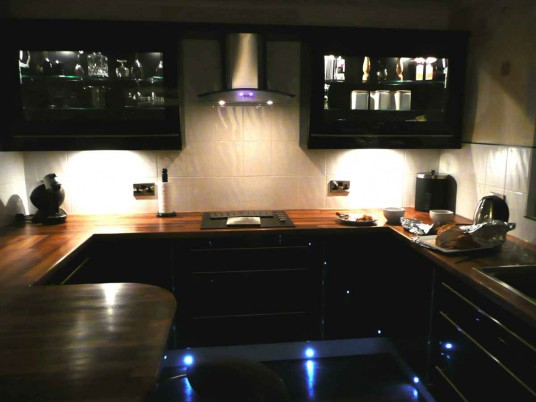 black laminate kitchen flooring ideas