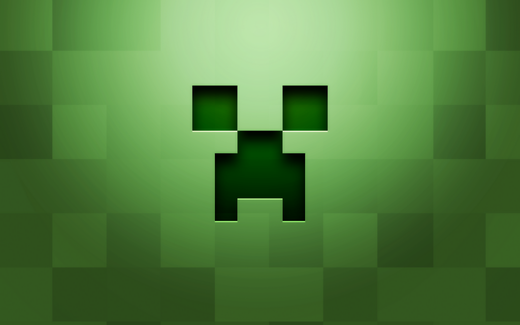 Minecraft Creeper Face Architecture World