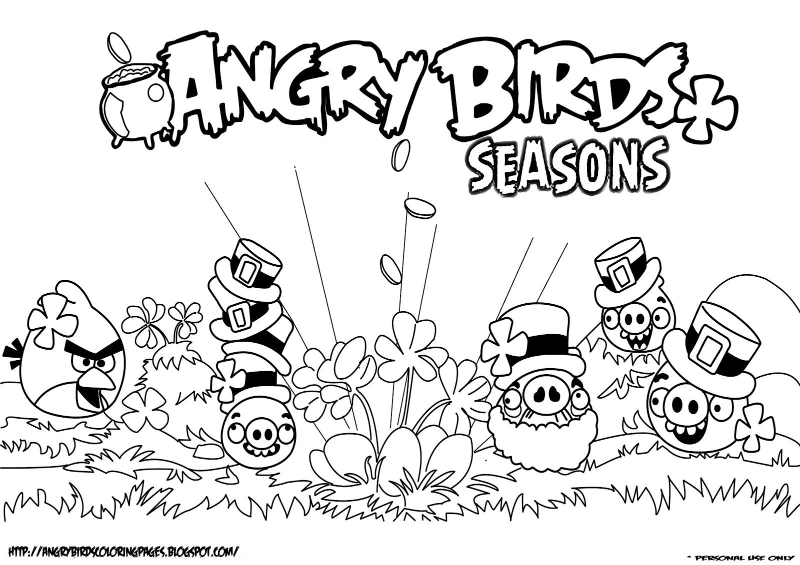 angry birds coloring pages 05 Architecture World