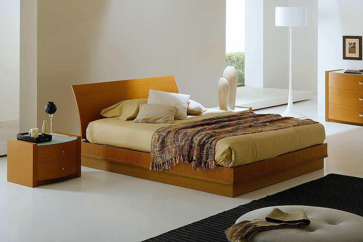 bedroom furniture in modern houses