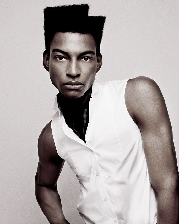 black hairstyles for men