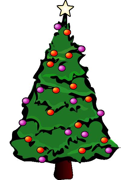 christmas tree clip art 01