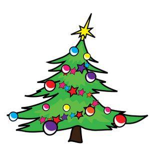 christmas tree clip art 05