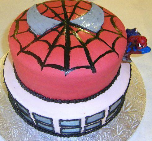 Spiderman cake ideas - photo#22