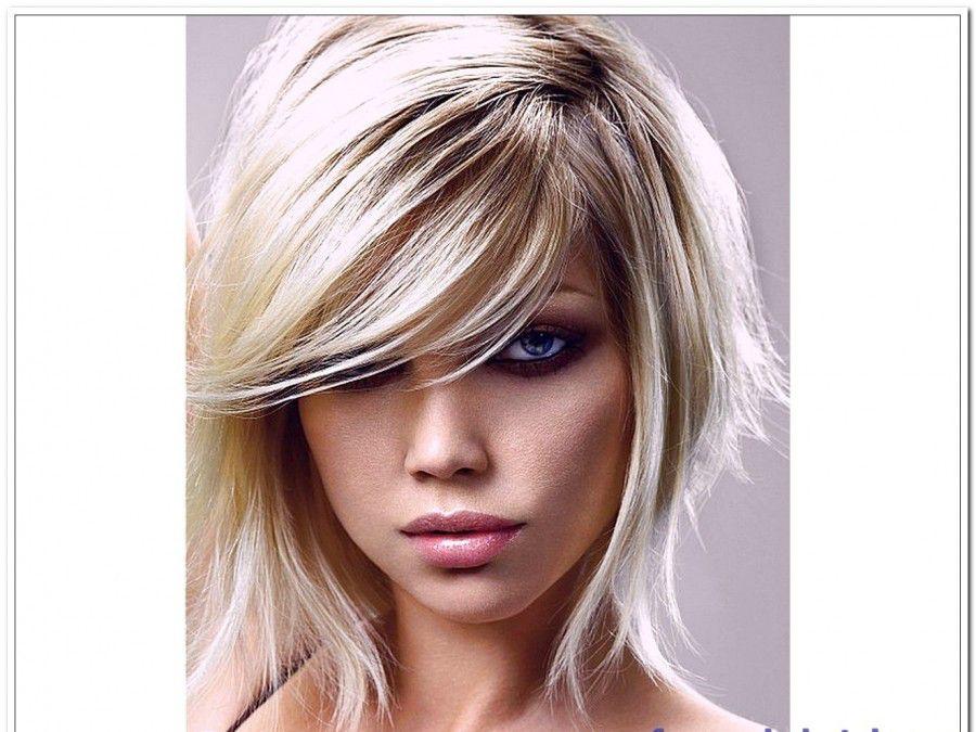 Blonde Hairstyles model
