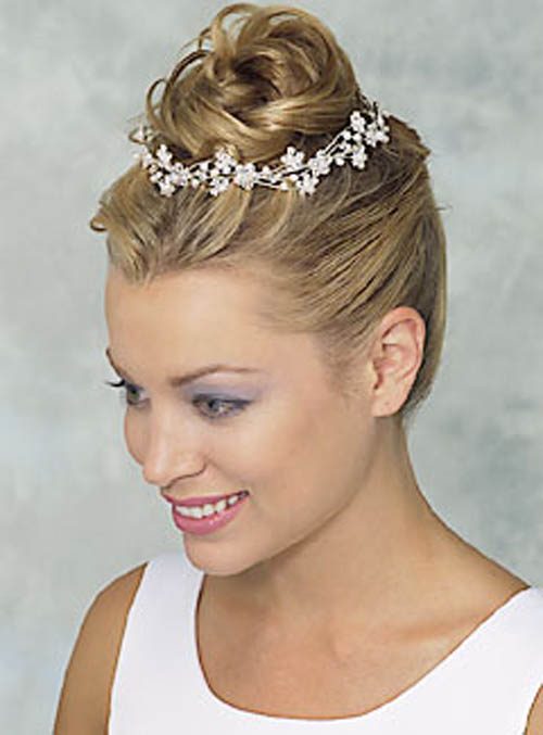 Wedding Hairstyles model