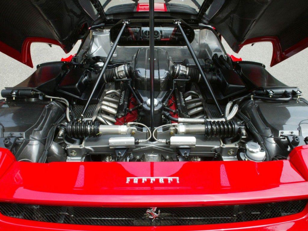 2014 Ferrari Enzo Engine