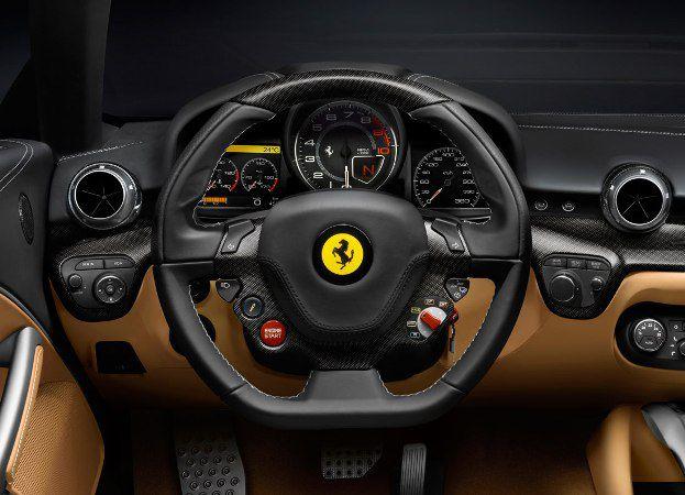 2014 Ferrari Enzo F70 Dashboard