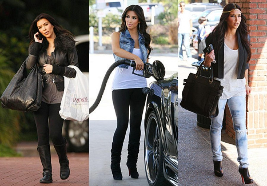 Kim Kardashian Dress Casual Style - Architecture World