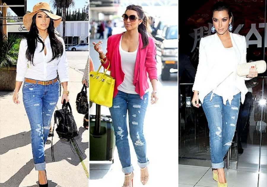 kim kardashian casual wear pictures