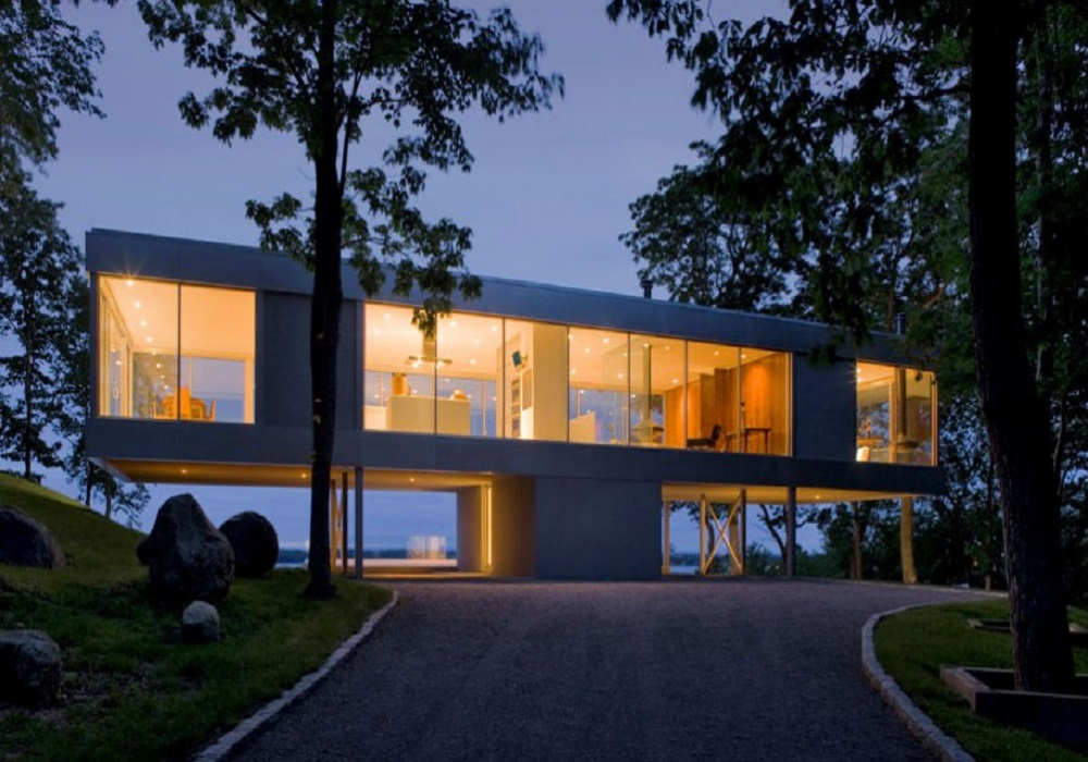 modern architecture glass house Knowledge of Modern