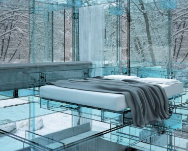 modern architecture using glass
