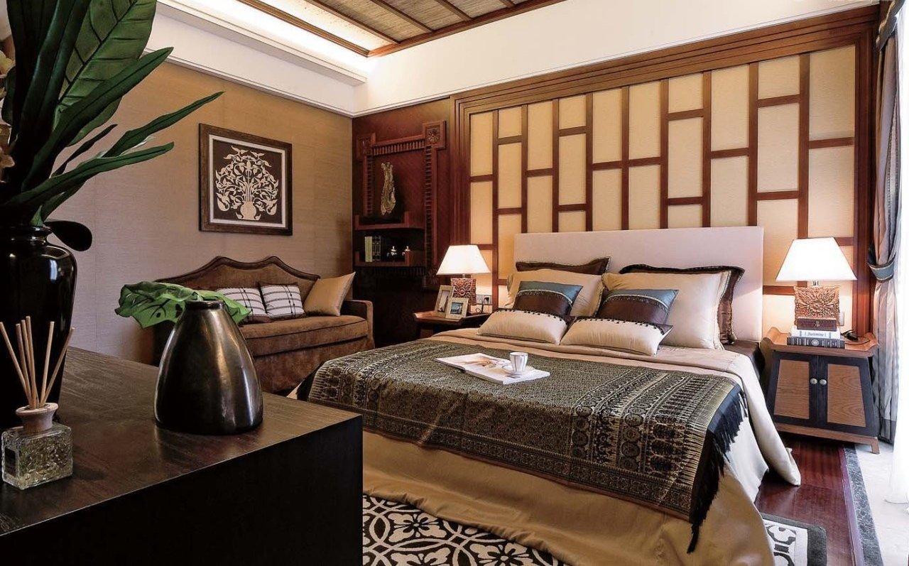 Wonderful modern asian bedroom design ideas architecture for Bedroom inspiration oriental