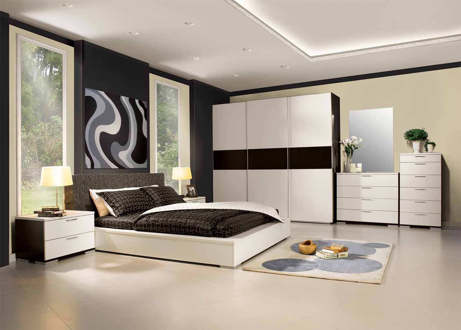 Bedroom Decoration Bedroom Decorating With Mirrors Endearing