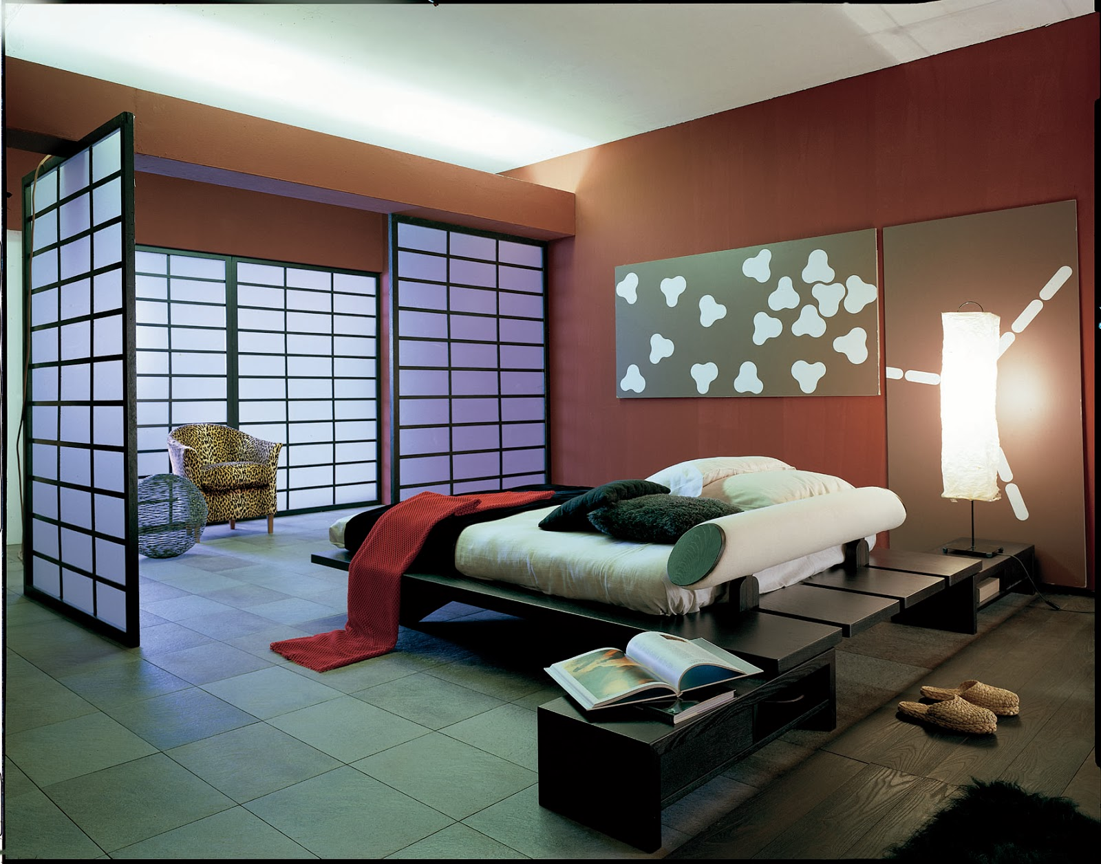 Wonderful modern asian bedroom design ideas architecture for Interior design for bedroom red
