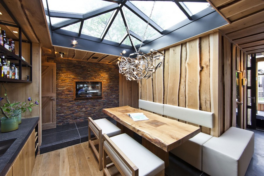 Wooden Home Design Interior
