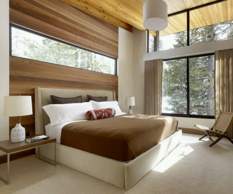 Modern-Bed-Designs-Ideas-with-Brown-and-White-Color