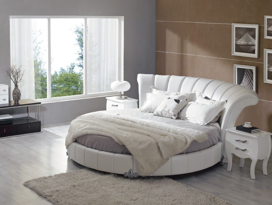 Modern-Gray-and-White-Bed-Design-Idea