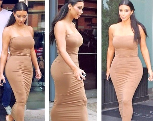 Kim Kardashian Weight Loss Photo