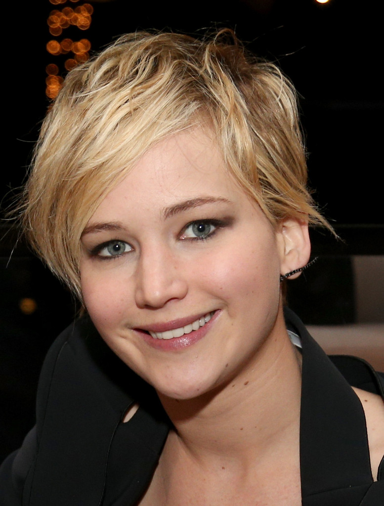 Beautiful Jennifer Lawrence Short Hairstyle