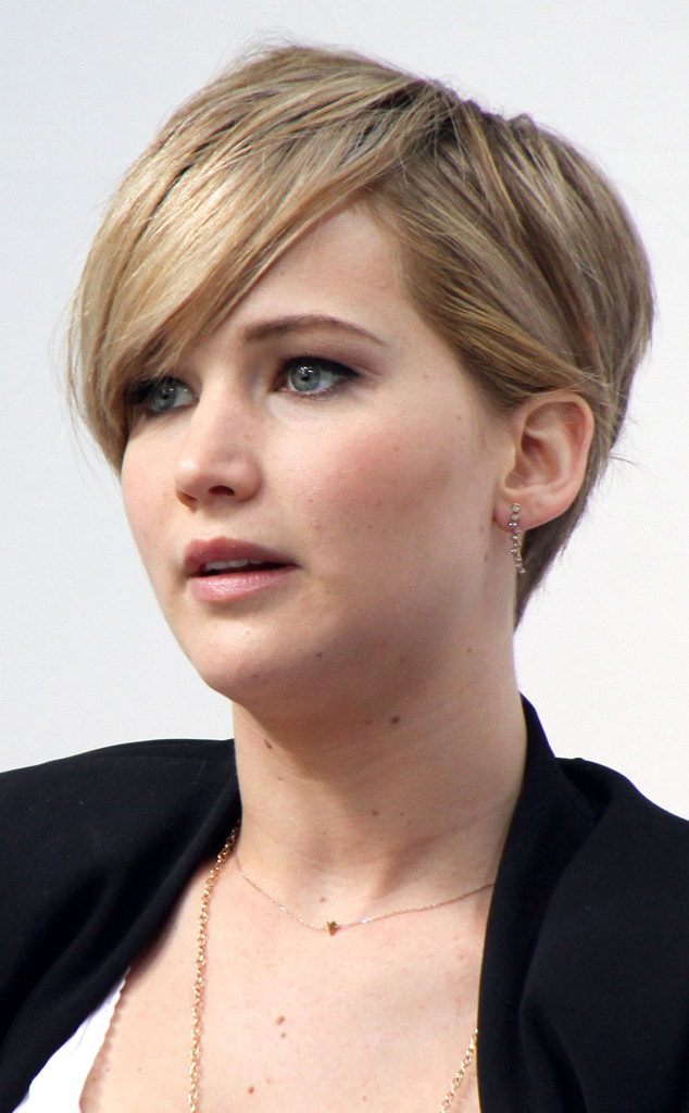 Jennifer Lawrence Short Hairstyle