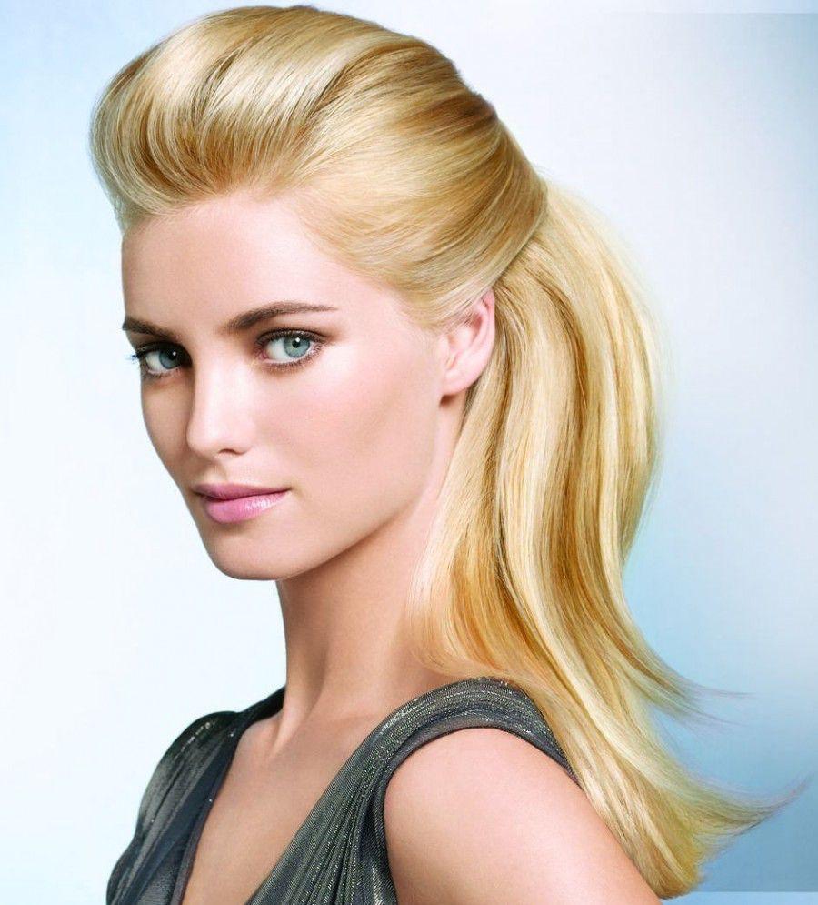 Фото блондинки с зализанным волосом 24 фотография