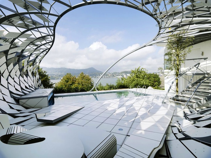 Modern Landscape Architecture For Modern Architecture Design on Pool House Plans Free