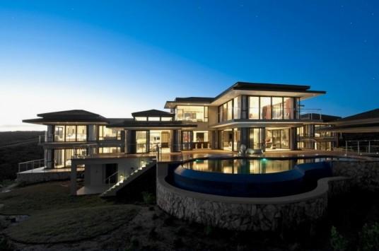 luxury big house exterior