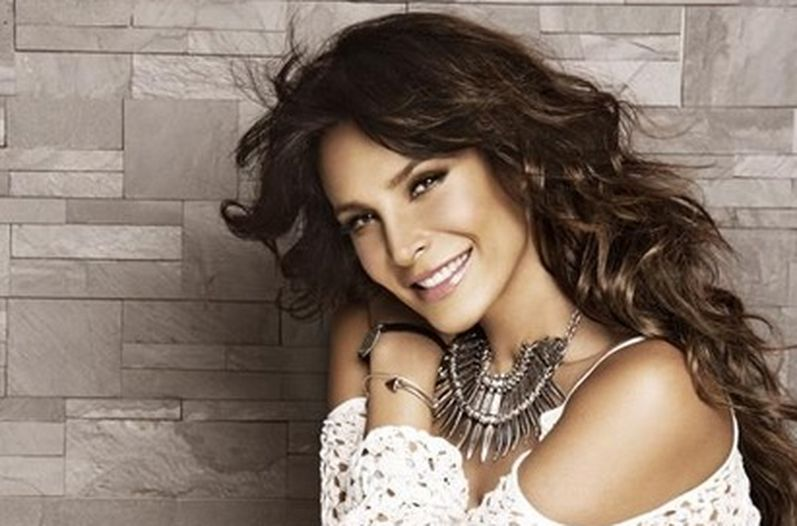 Beautiful Lorena Rojas Long Hairstyle
