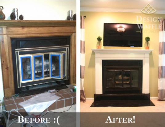 Fireplace-Before-and-After-Makeover