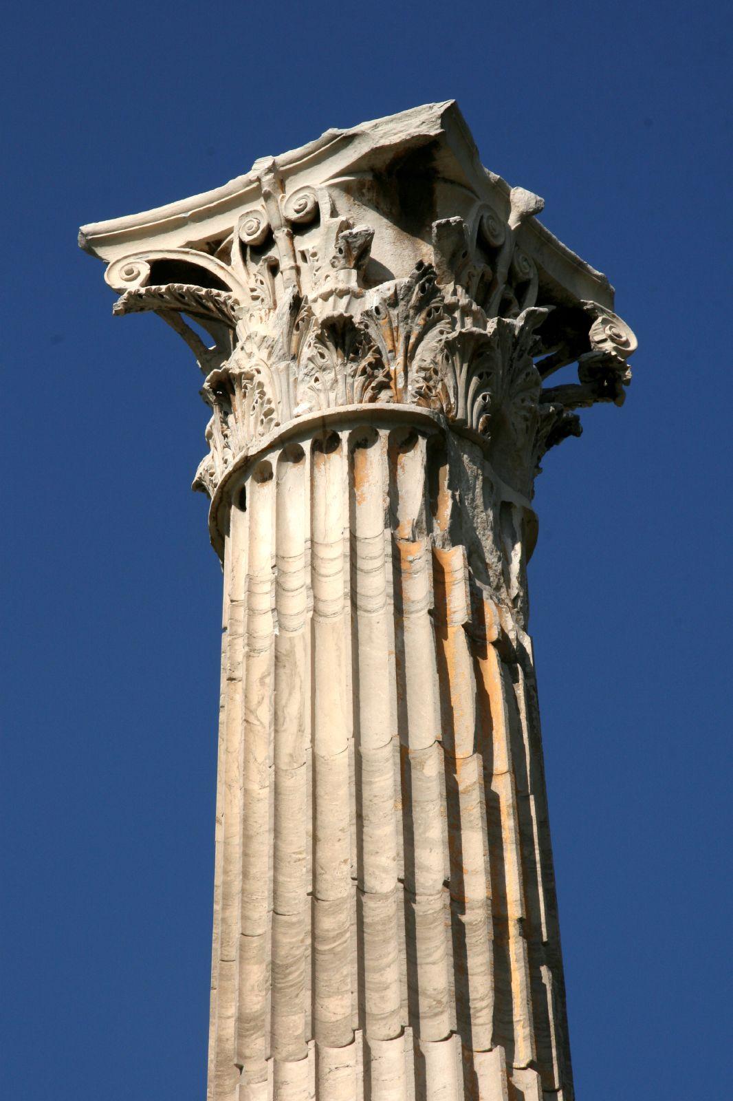 Pillars And Columns : The great historical greek architecture corinthian columns