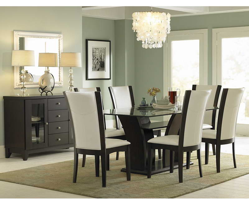 Modern Dining Room Set Ideas With Cystal Chandelier