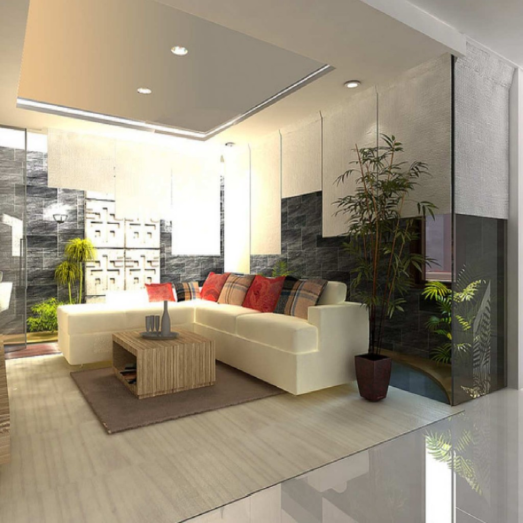 Avoiding cramped living room design architecture world for Minimalist room design ideas